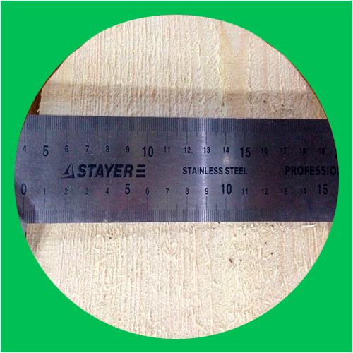Сухая обрезная доска 50*150*6000 Влажность 12%
